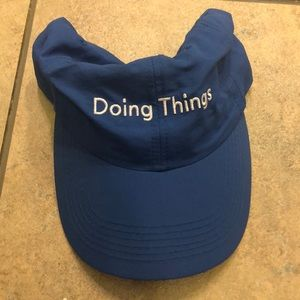 Outdoor Voices Blue 'Doing Things' Hat